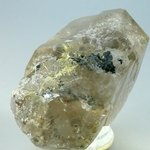 SUPERB Smoky Quartz with Golden Rutile Point ~95mm