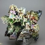 SUPERIOR Rainbow Bismuth Crystal ~80 x 60mm