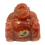 Superior Carnelian Carved Sitting Buddha Statue