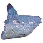 Tanzanite Aura Quartz Healing Crystal ~60mm