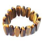 Tiger Eye Gemstone Nugget Bracelet