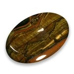 Tiger Eye Thumb Stone