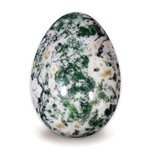 Tree Agate Crystal Egg