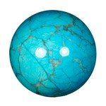 Turquoise Howlite Crystal Sphere ~4.5cm