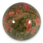 Unakite Medium Crystal Sphere ~4.5cm