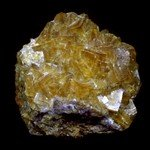 Yellow Fluorite Healing Mineral ~62mm