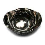 Zebra Jasper Gemstone Oil Bowl ~62mm