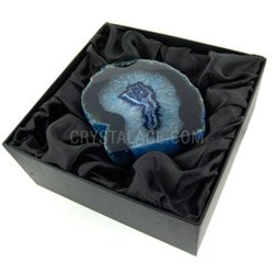 Agate Geode (Blue) Gift Box - Large