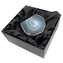 Agate Geode (Turquoise) Gift Box  - Large