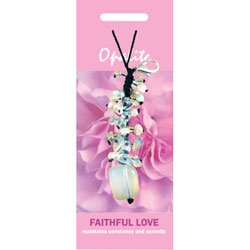Opalite Faithful Love Crystal Charm