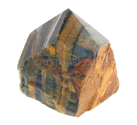 Blue Tiger Eye Generator Point ~55mm