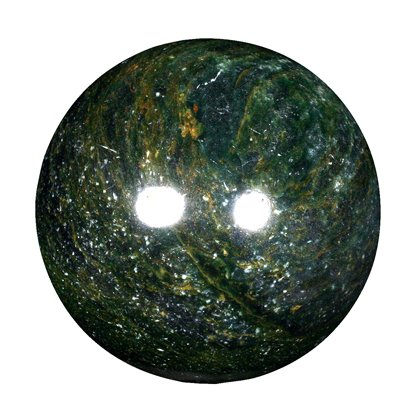 African Jade Medium Crystal Sphere ~4.5cm