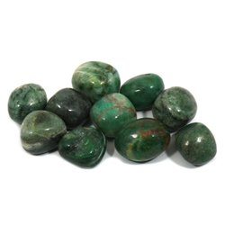 African Jade Tumble Stone (20-25mm)