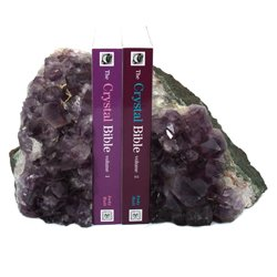 Amethyst Bookends ~17cm