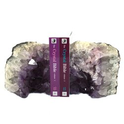 Amethyst Bookends ~24cm