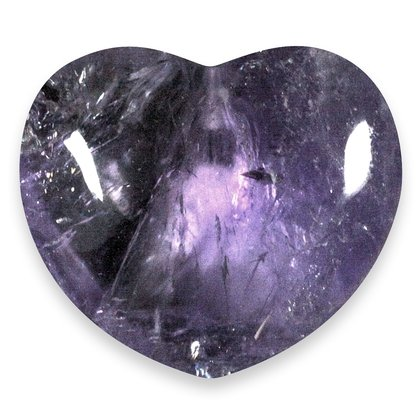 Amethyst Crystal Heart (Extra Grade) ~45mm