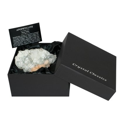Apophyllite Cluster Gift Box - Medium