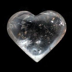 Stunning large celestite heart 0762