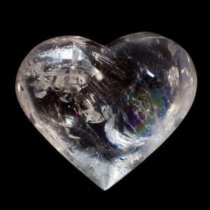 Beautiful Quartz Polished Heart ~66mm