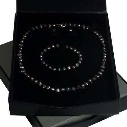 Black Pearl Jewellery Gift Set