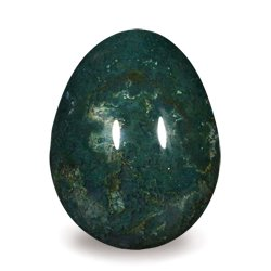 Bloodstone Egg ~45mm
