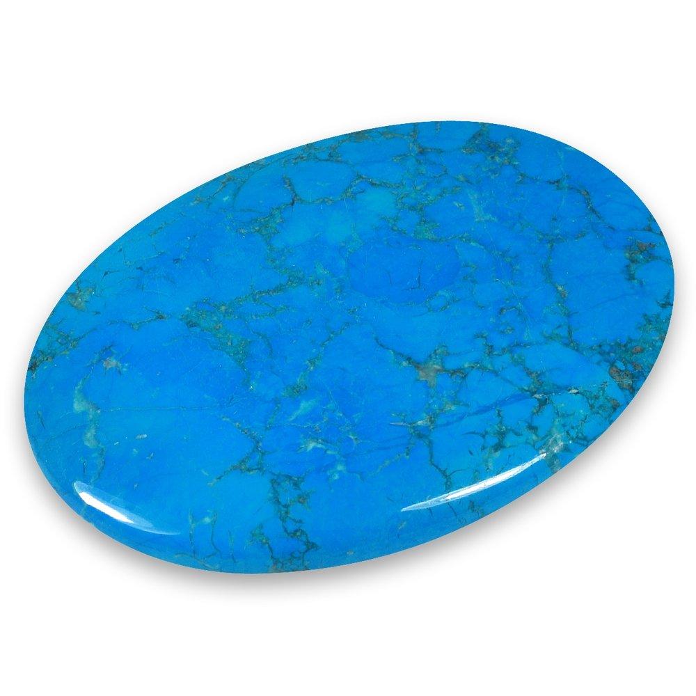 Blue Howlite Palm Stone