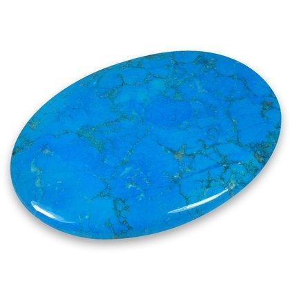 Blue Howlite Palm Stone