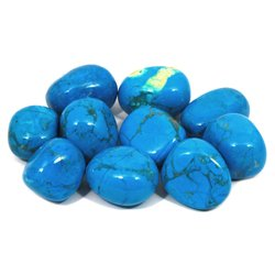 Blue Howlite Tumble Stone (20-25mm)