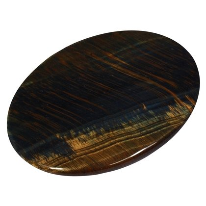 Blue Tiger Eye Palm Stone