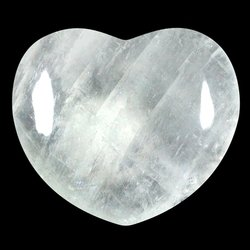 Calcite Crystal Heart ~45mm