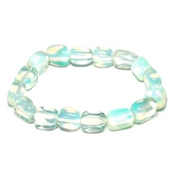 Cancer Birthstone Bracelet - Opalite