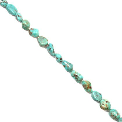 Chinese Turquoise Crystal Beads - Mini Tumble Stone