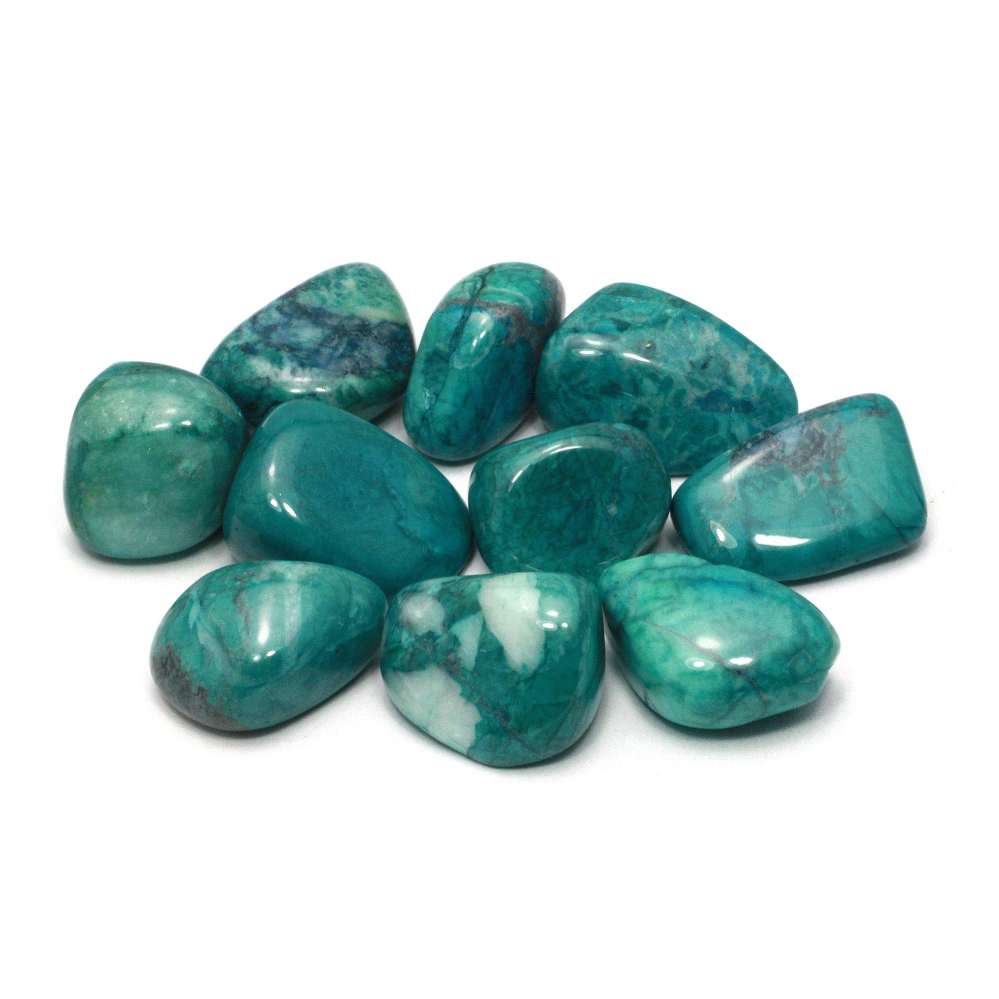 Chrysocolla Howlite Tumble Stone 20 25mm