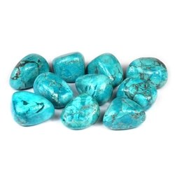 Chrysocolla Howlite Tumble Stone (20-25mm)