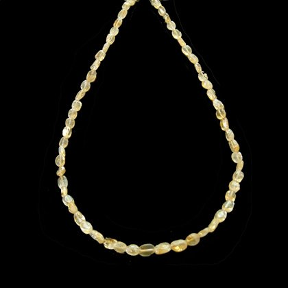 Citrine Gemstone Necklace with clasp - 17 Inches