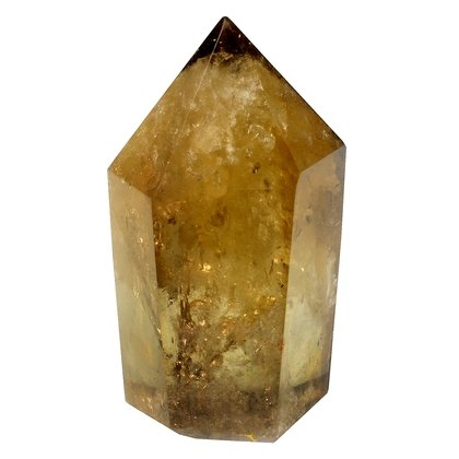 Citrine Polished Point ~6 x 3.5 cm
