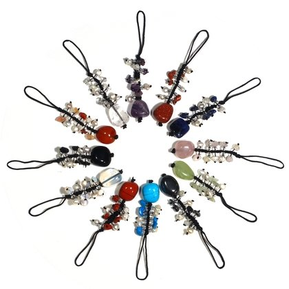 Crystal Charm Set (Pack of 6)