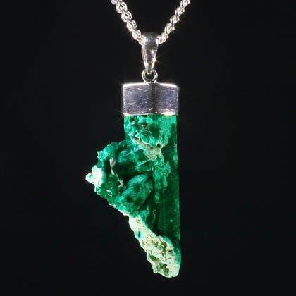 Dioptase dioptase healing crystal pendant 32mm aloadofball Gallery