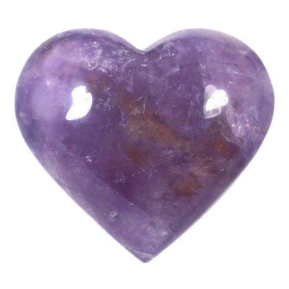 Exceptional Ametrine Polished Heart  ~57mm