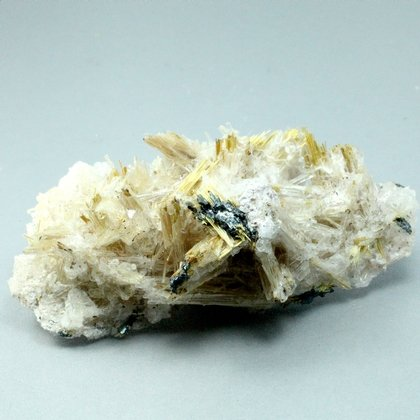 Golden Rutile with Hematite Healing Mineral ~65mm