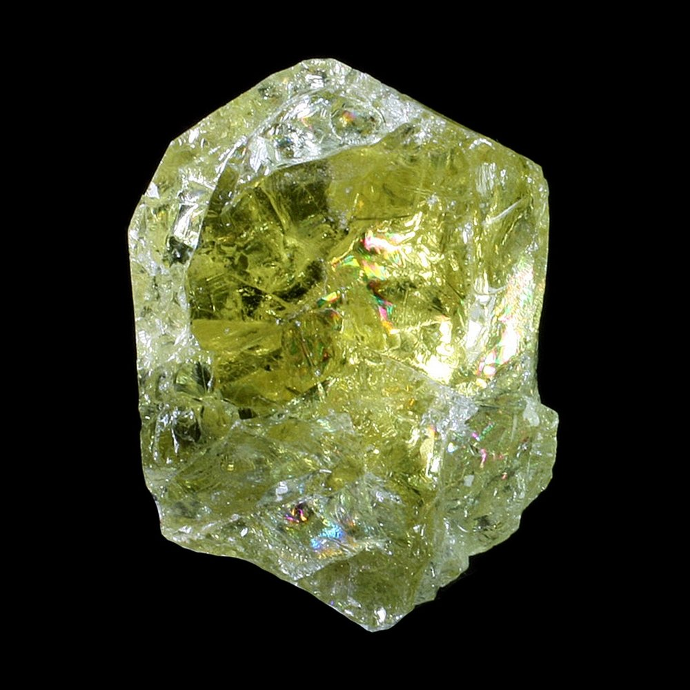 Green Apatite Healing Crystal ~23mm