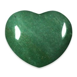 Green Aventurine Crystal Heart ~45mm