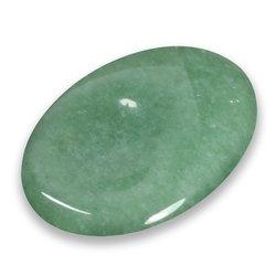 Aventurine Crystal Crystal Palmstone Blue Aventurine Palm Stone Aventurine Stone Cristal Polished Gemstone