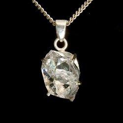 Herkirmer Diamond & Silver Pendant