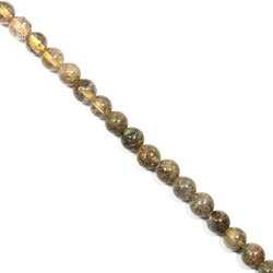 Included Quartz Crystal Beads - 8mm Round