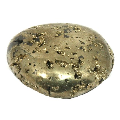 Iron Pyrite Tumblestone ~45mm