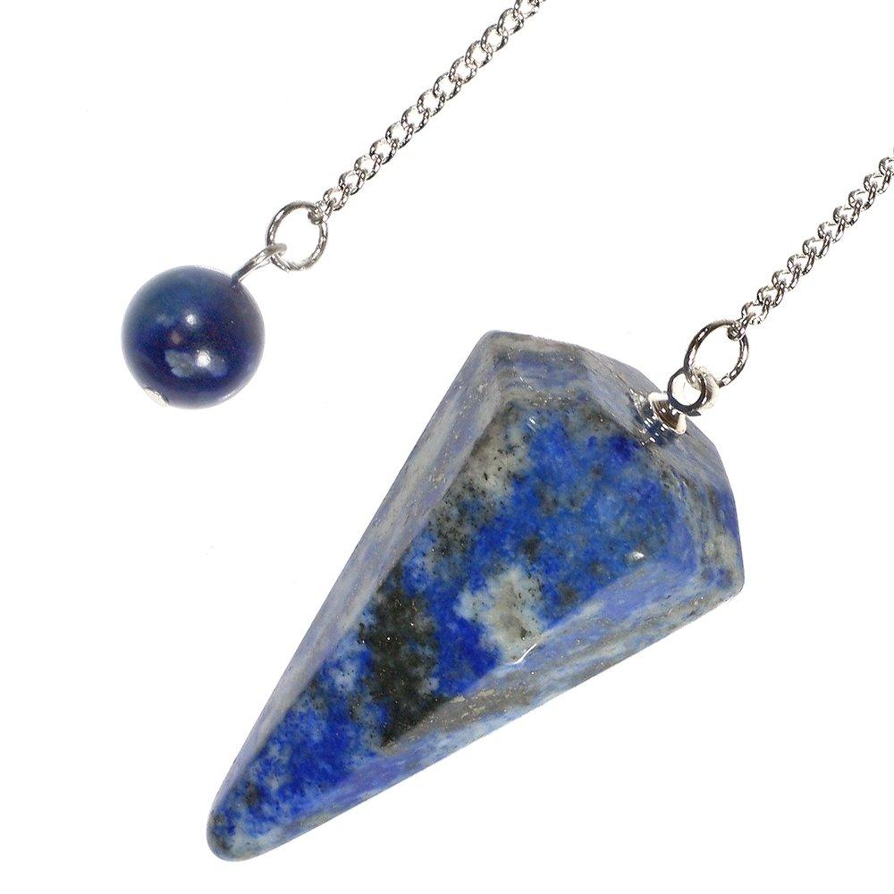 lapis lazuli crystal pendulum