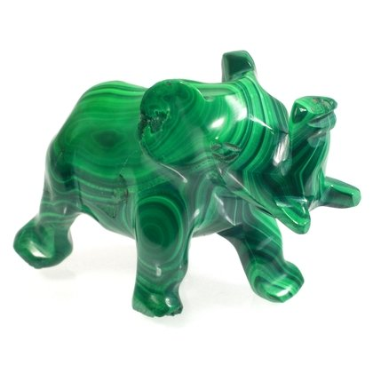 Malachite Elephant ~33 x 47