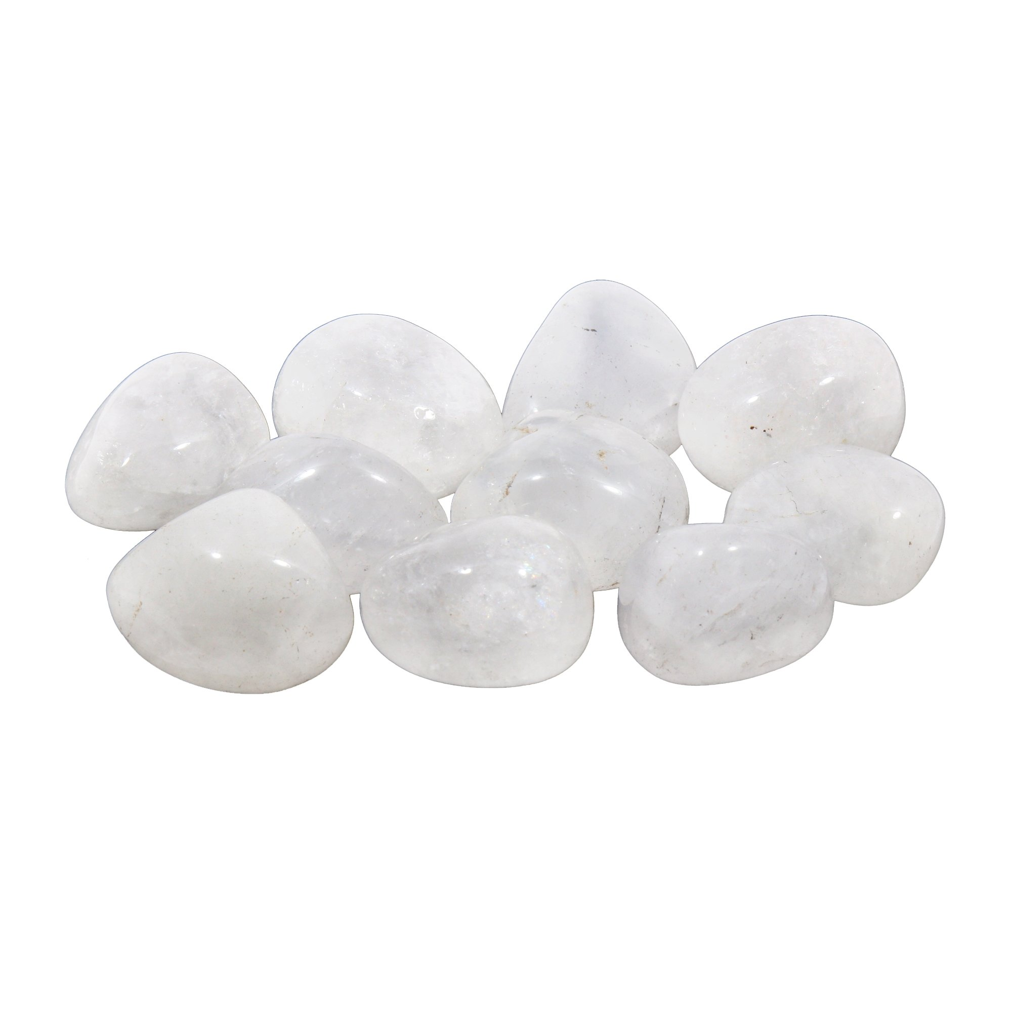 Milky Quartz Tumble Stone (20-25mm)