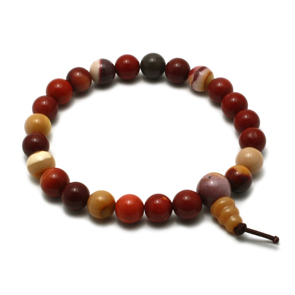 Mookaite Power Bead Bracelet